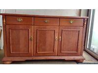 Wooden sideboard / cupboard / unit