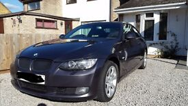 2007 BMW 320i SE Coupe E92 Only 58k Sparkling Grey 170bhp