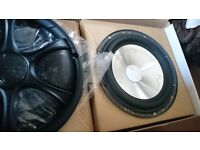 Stereo car speakers. Good sound 17cm