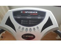 'Confidence Fitness' vibration pad in good condition, rarely used.