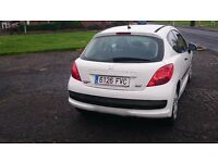 PEUGEOT 207, LHD, LEFT HAND DRIVE, SPANISH REGISTERED