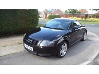 Audi TT 225 (2001) Black with BAM engine