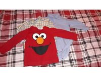 Bundle of baby boy clothes