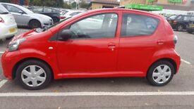 2010 (59 Reg) Toyota Aygo Hatchback, manual, Petrol, 998cc Clean £20/Yr Road Tax 12 Month MOT