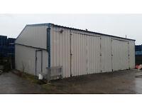 Industrial workshop/storage unit to rent (Unit 5)
