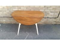 ERCOL TABLE MID CENTURY MODERN FARMHOUSE COUNTRY STYLE EXTENDING