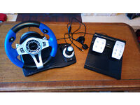 Steering wheel for PS3