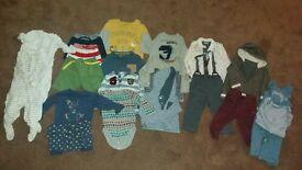 boys 9-12 month clothing bundle