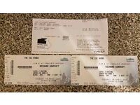 2x Richard Ashcroft Tickets SSE Hydro Tuesday 18th April