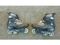 Salomon jfk skates in very good condition!can deliver or post!