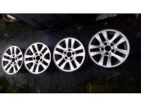 E90/91 BMW 16inch alloys (x4)