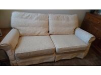 Three seater sofa, very good quality hardly used!!