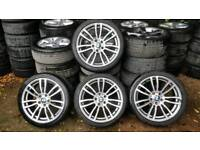 "Bmw 19"" genuine alloys staggered 5x120"