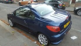 Peugeot 206 CC 1.6 16v Allure 2dr Convertable and full leather