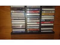 40 CD & 108 Cassettes Tapes of English Music & Few in Spanish in Very Good Condition STILL AVAILABLE