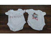 Baby vest bundles size 0-3 months.