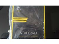 Corsair void Pro surround in carbon NEW