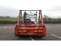 IVeco skip lorry