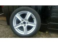 """Mazda alloy wheel 16"""" with tyre"""