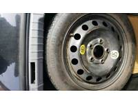 BMW E90 space saver wheel