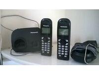 Twin cordless phones (Panasonic)