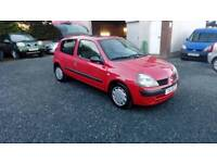 04 Renault Clio 1.2 3 Door Only 11960 Mls One Owner great Driver ( can be viewed inside Anytime
