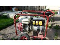 Petrol Generator 110v, 3.5kw, 4.5kva.