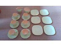 Beautiful Fine Bone China Tea Set - Mint Condition