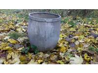 Original galvanised Peggy tub
