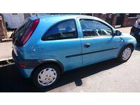 Cheap Vauxhall Corsa 1.2 Low millage 60k ****Bargain07895108777