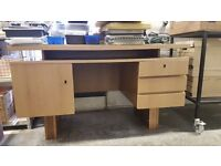 Super quality wooden desk with lots of storage.