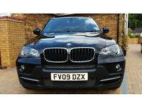 2009 BMW X5 XDRIVE 30D SE 7S AUTO BLACK 179K