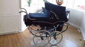 silver cross vintage pram reduced for quick sale
