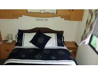 2 bedroom static caravan sleeps 6