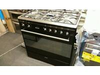 Smeg 80cm wide range cooker dual fuel