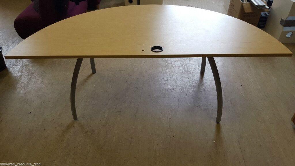 circular office desks. Superb Semi-Circular Office Desk / Table 200cm X 100cm Circular Desks E