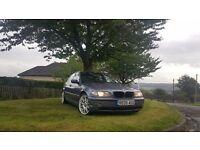 BMW 3 series 320 D es 2005 diesel 6 speed manual lovely 4 door saloon car