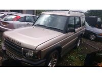 Landrover Discovery 2 Td5 For Breaking Most Parts Available