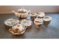 Tea Set (winter themed) 21 piece