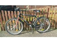 """Mountain bike 26"""" with all accessories"""