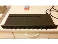 australian monitor tx8201 tx 8201 8 channel stereo mixer vgc