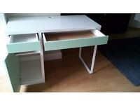 Ikea childrens desk excellent condition with drawer & cupboard.