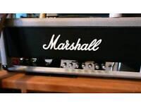 Marshall Jubilee 2555 x 100w amp head reissue