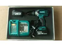 Makita DHP458Z 18v drill and torch