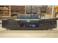 Sony CDP-XE520 CD Player with remote control
