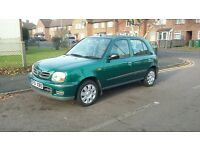 Nissan micra 5 door low mileage manual selling cheap
