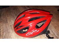 Giro Mira Bike Cycling Helmet, Red/Black, Unisize 55cm-61cm, 240g, very good condition
