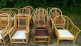 Garden Furniture - Wicker Bamboo - Large Selection - *Low Prices*