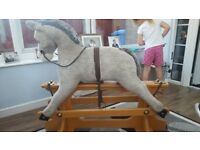 Merry thoughts childs rocking horse good working condition