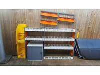 BARGAIN!! Hubb Systems Quality Van Racking